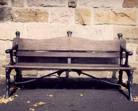Glebe Point Rd Bronze Bench Seats - Casting - Wrought Artworks - Iron work Australia