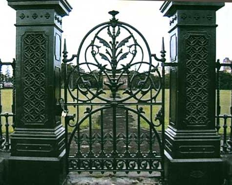 Centennial Park Reservoir Gate - Gates and Fences - Wrought Artworks - Iron work Australia