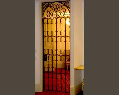 Gates for Faberge-Sydney CBD - Security Doors and Grills - Wrought Artworks - Iron work Australia