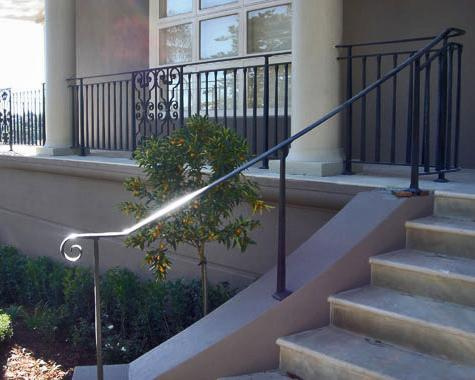 French style verandah balustrading - Gates and Fencing - Wrought Artworks - Iron work Australia