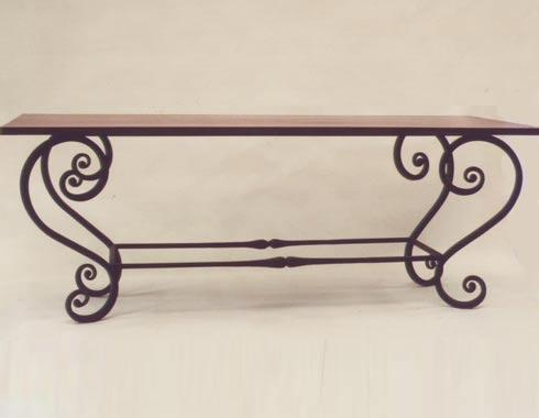 French Provincial Table - Tables and Chairs - Wrought Artworks - Iron work Australia