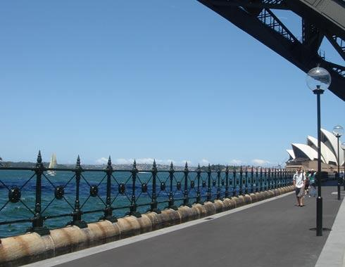 Sydney Harbour Foreshore Restoration - Victorian Palisades - Wrought Artworks - Iron work Australia