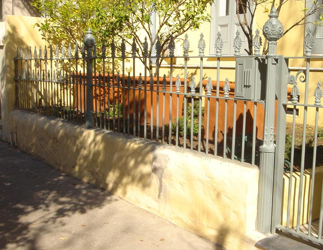 Paddington palisade fence - Victorian Palisades - Wrought Artworks - Iron work Australia