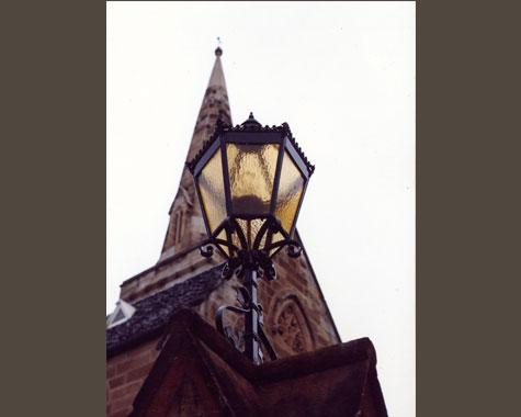 St.Marks Church Lanterns - Darling Point - Reproductions - Wrought Artworks - Iron work Australia