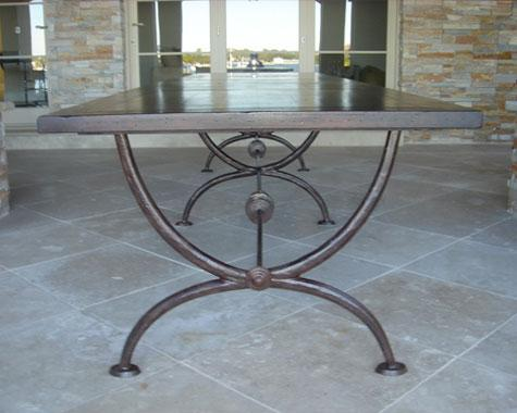 Roman Lunch Table - Tables and Chairs - Wrought Artworks - Iron work Australia