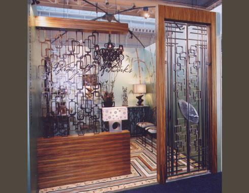 Mid Century Modern Security Door for DesignEX - Security Doors and Grills - Wrought Artworks - Iron work Australia