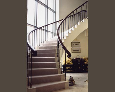 Peak Penthouse Staircase - Staircasses - Wrought Artworks - Iron work Australia